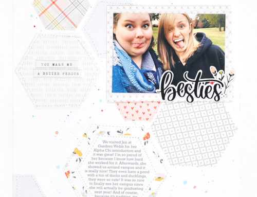 Alex Hunter | Inspired Scrapbook Page