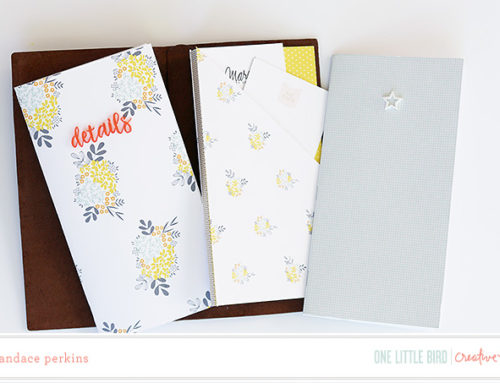 Candace Perkins | Custom Traveler's Notebook Inserts