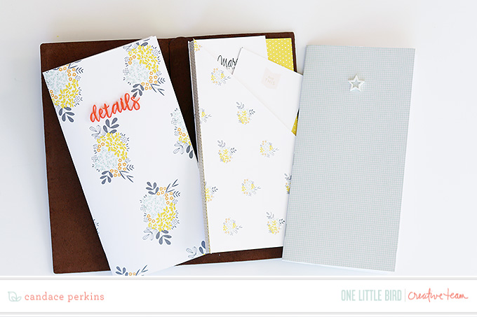 Traveler's Notebook by Candace Perkins | One Little Bird