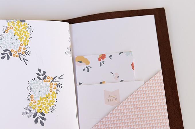 Traveler's Notebook by Candace Perkins   One Little Bird