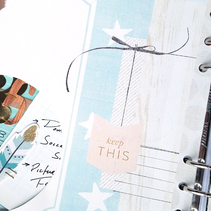 Hybrid Planner Pockets by Kim Oedekoven | One Little Bird