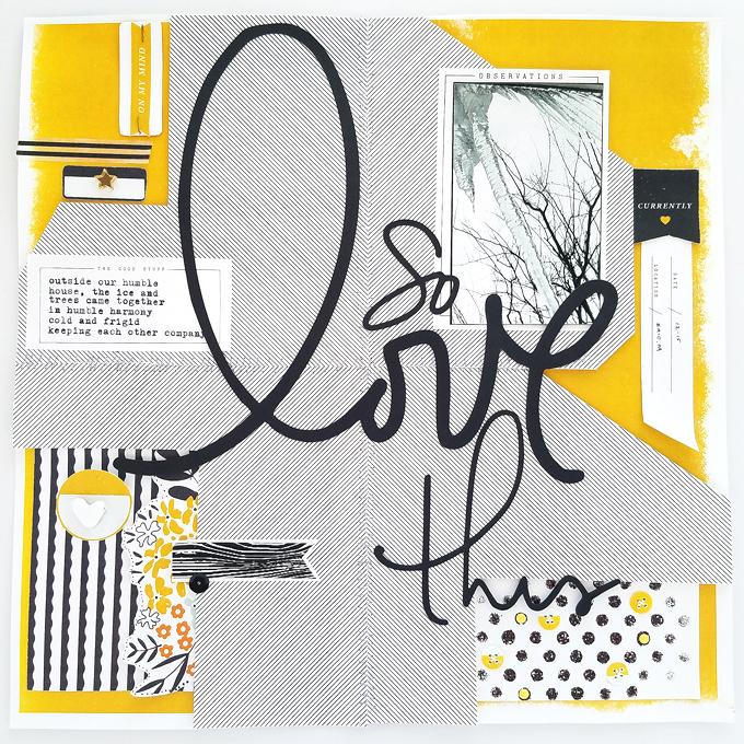 Hybrid Page by Kim Oedekoven | One Little Bird