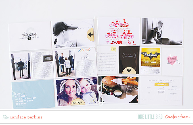 Project Life by Candace Perkins | One Little Bird Designs