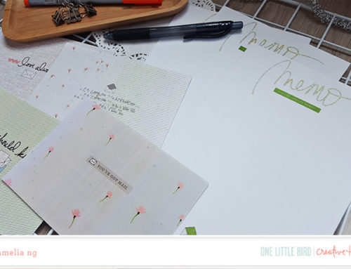 Amelia Ng | DIY Stationary Set with Postscript