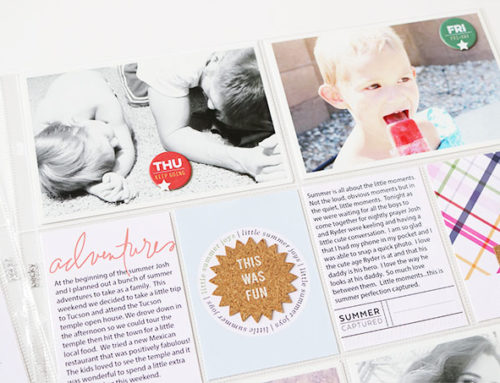 Candace Perkins | Summer Pocket Page Inspiration