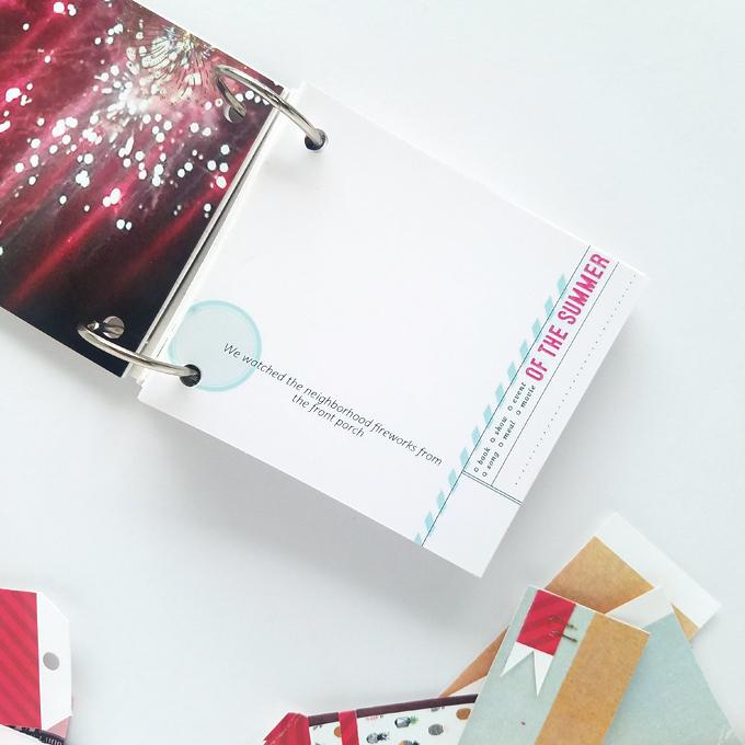 Mini Album by Kim Oedekoven | One Little Bird