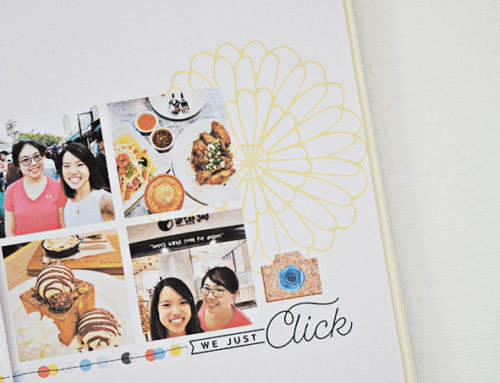 Amelia Ng | Colorful Weekend Layouts