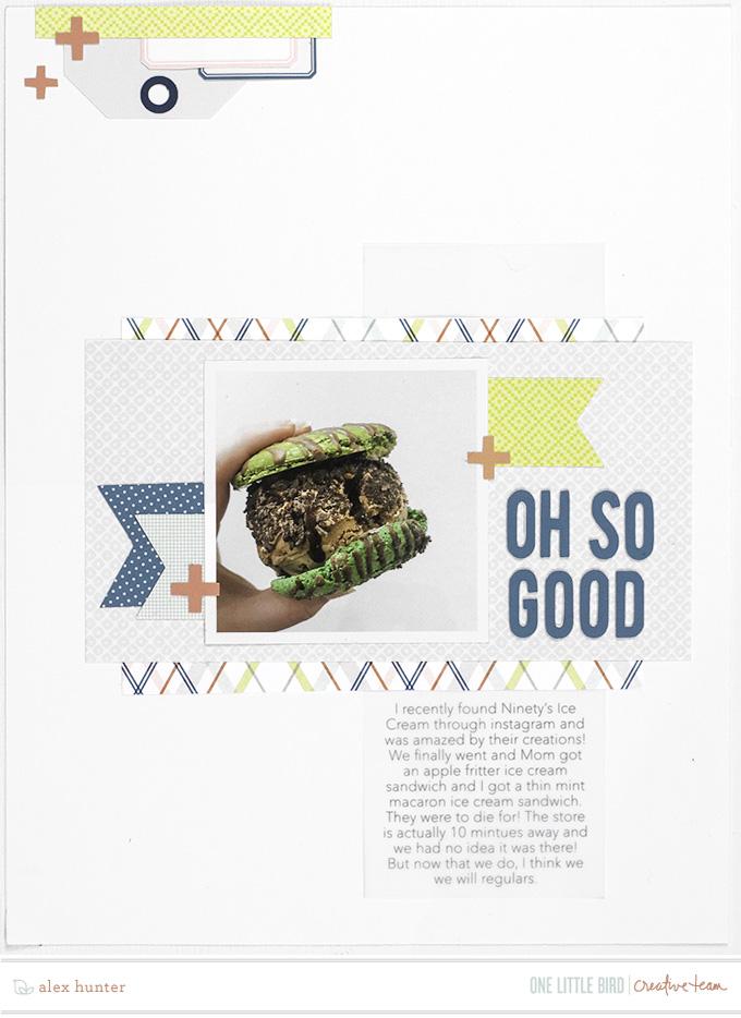 Hybrid Page by Alex Hunter | One Little Bird