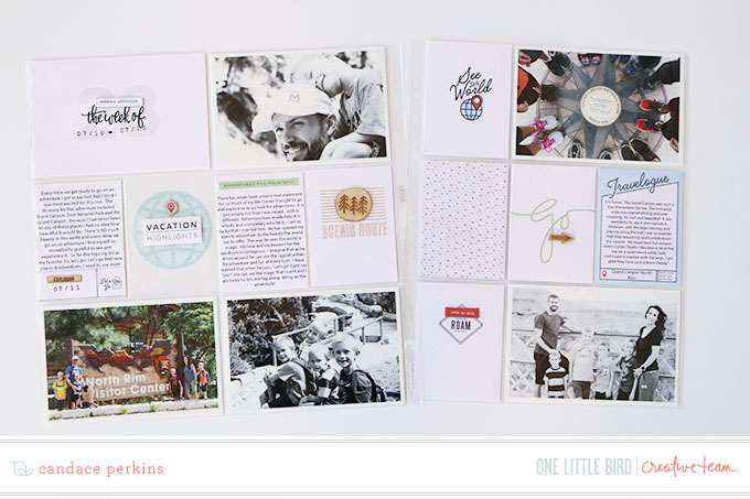 Project Life by Candace Perkins | One Little Bird